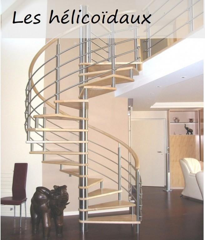 Escaliers hélicoïdaux