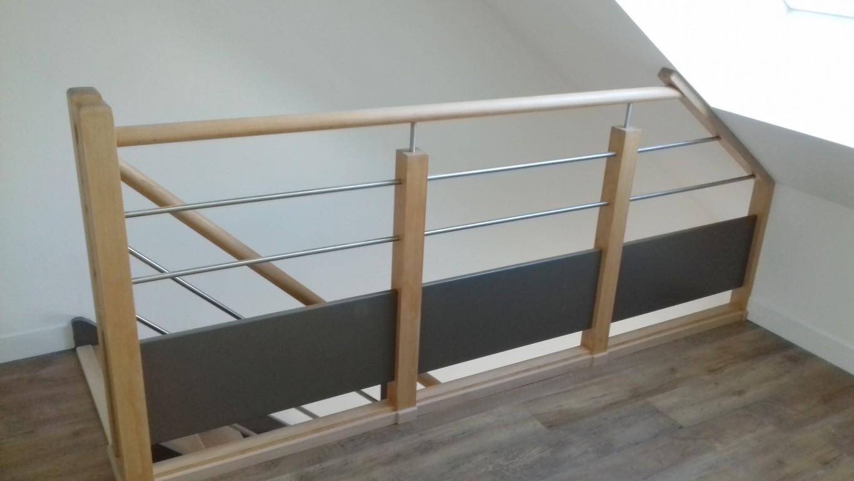 Photo Escalier Bois Peint Gris nouveautés : nos derniers escaliers - escaliershaquette